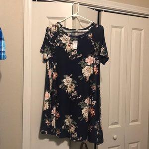 New. Never worn. Rue 21 T-shirt dress